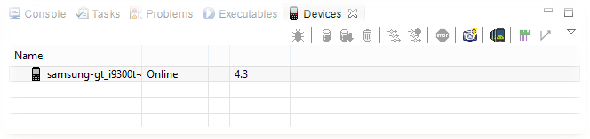 Eclipse Devices Samsung Galaxy S3 online screenshot